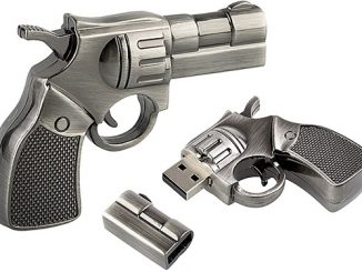 Police Revolver Gun USB Flash Drive