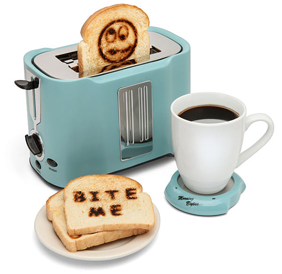 Pop Art Bite Me Toaster