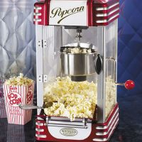Retro Hot-Oil Popcorn Maker