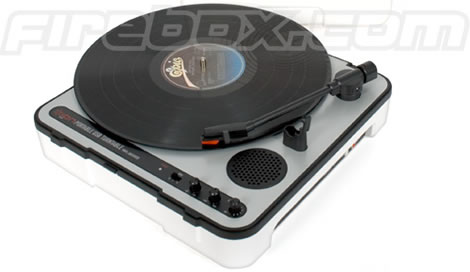 Portable USB Turntable