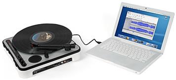 Portable USB Turntable
