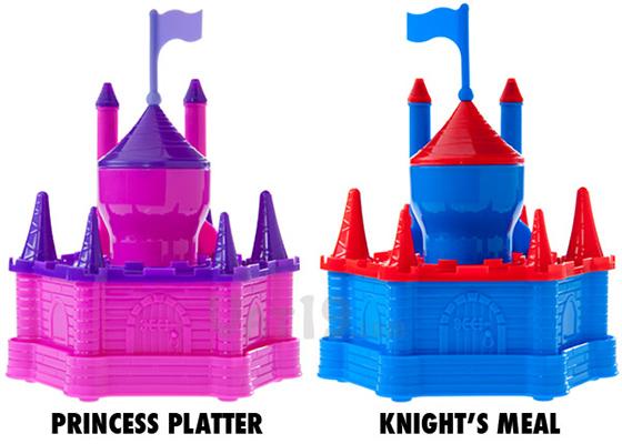Princess Platter Knight's Meal