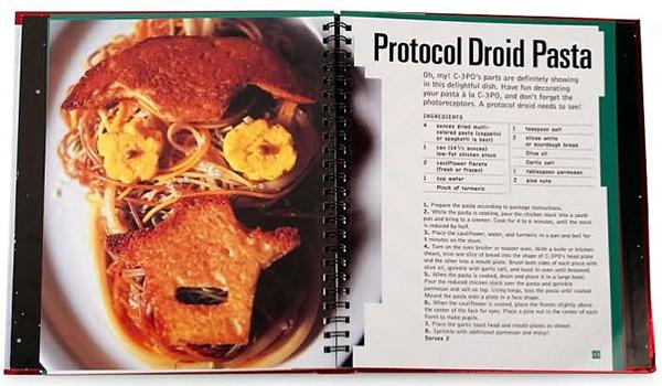 Protocol Droid Pasta Recipe