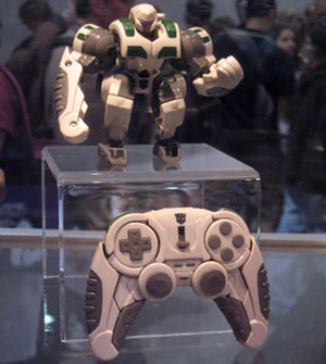 Autobot Transformers PlayStation Controller