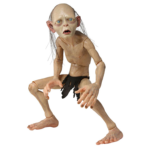 quarter scale smeagol