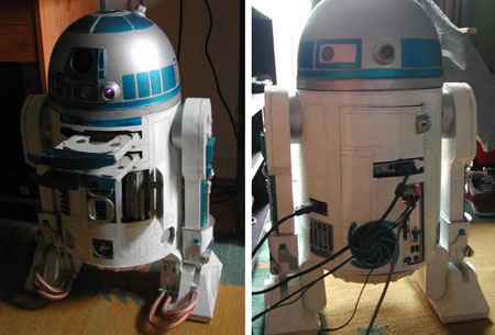 Awesome R2-D2 Case Mod