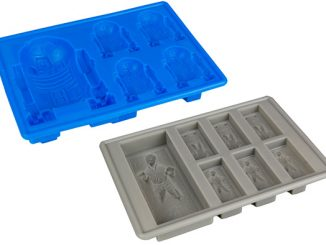 R2-D2 and Han Solo Carbonite Ice Cube Trays