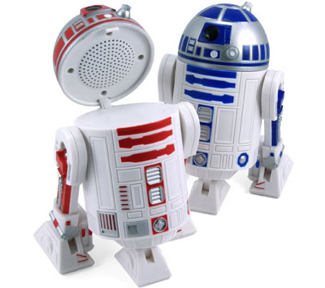 Star Wars R2-D2 Desktop Speakers. Star Wars R2-D2 Speaker Set