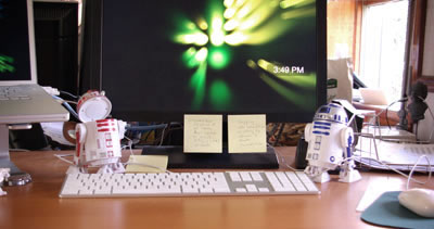 Star Wars R2-D2 Speaker Set