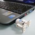 R2-D2 USB Flash Drive LEGO Figure
