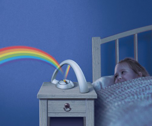 Bedroom Rainbow Projector