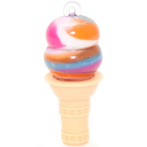 Rainbow Sherbet Swirl Ice Cream Lip Gloss