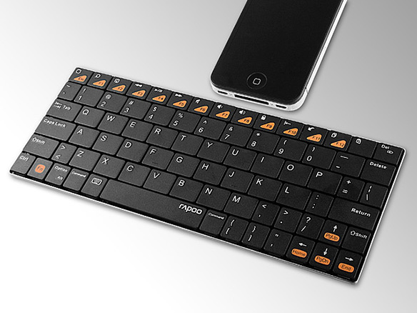Teclado Rapoo E6300 Ultra delgado  Bluetooth 3.0 Wireless