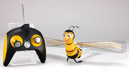 Radio-Controlled Flying Bee