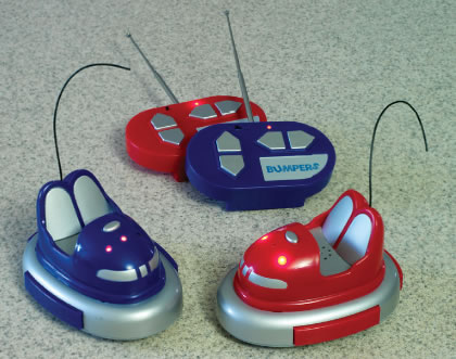 Remote Controlled Bumper Cars