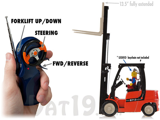 RC Desktop Forklift Toy
