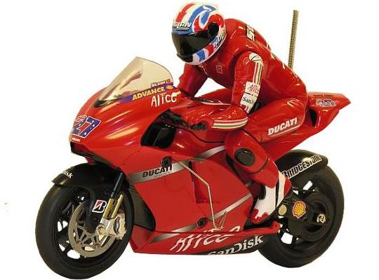 Silverlit  R/C Ducati Motorcycle