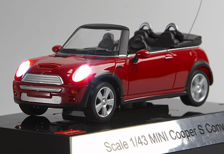 Mini Cooper S Convertible that was introduced by BMW at the Geneva Motor