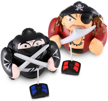 R/C Pirate vs Ninja