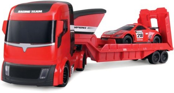 R/C Racing Car with Trailer