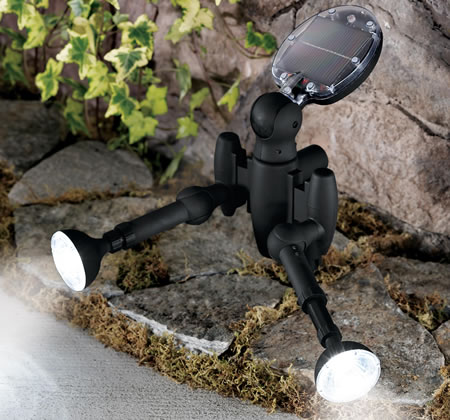 Remote Controlled Solar LED Spotlight