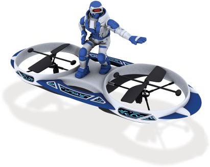 R/C Hovering Space Surfer