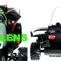 R/C Car with Video Camera and Laser Game