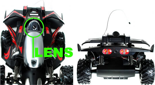 Rc Car Action >> R/C Car with Video Camera and Laser Game