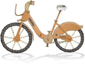 Re-Cycle Cardboard Bike