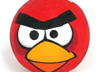 Red Angry Birds Dodge Ball