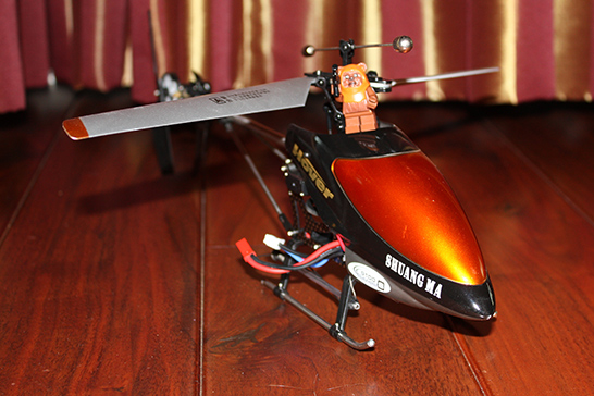 RC Helicopter With Ewok Mini Figure