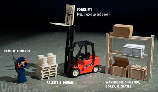 Remote Control Mini Forklift