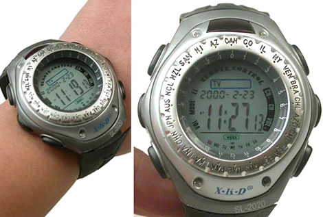 Remote Control Watch
