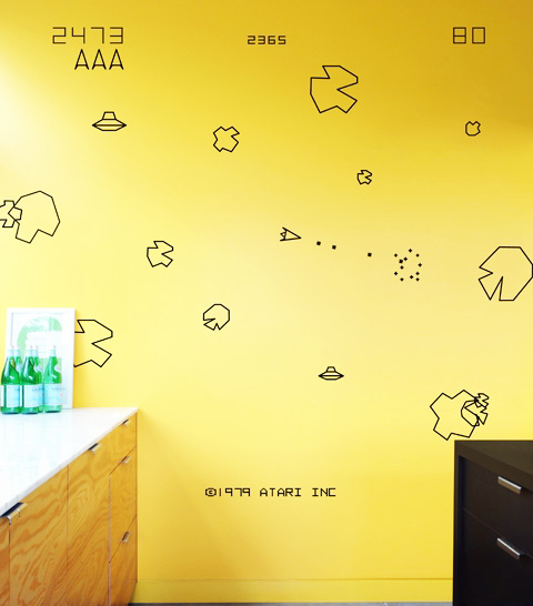 Re-stik Asteroids Wall Stickers