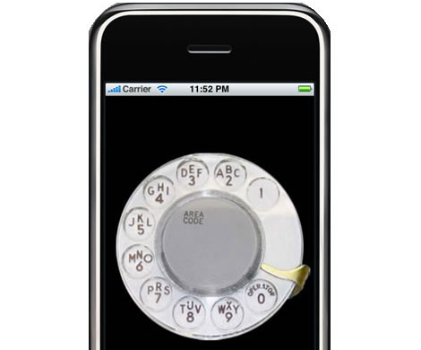 iRetroPhone – Rotary Dial Phone App for iPhone