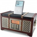 Retro iPod Dock with Clock Radio