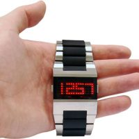 Stylish Retro LED Watch by Black Dice