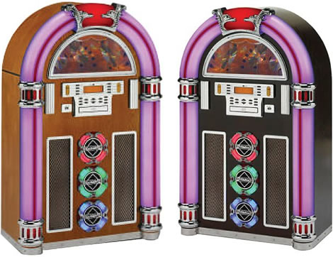 Retro CD/MP3 Jukebox