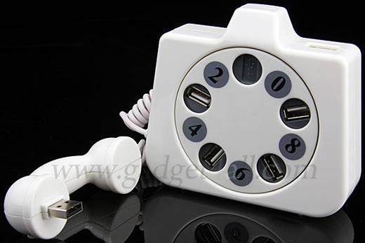 Retro Telephone USB Hub