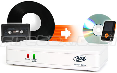 Instant Music Vinyl & Cassette Ripper