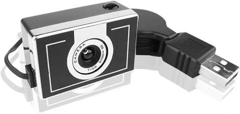 Retro Style Webcam