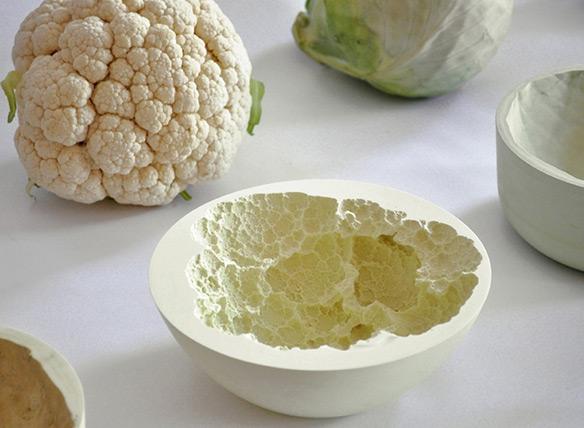 Reversed Volumes Cauliflower Bowl