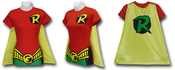 Robin Caped Costume Shirt