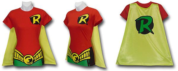 Robin Caped Costume Shirt