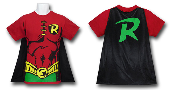 Robin Cape Costume T-Shirt