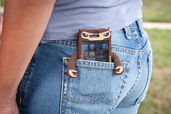 Robotector Monkey iPhone Case