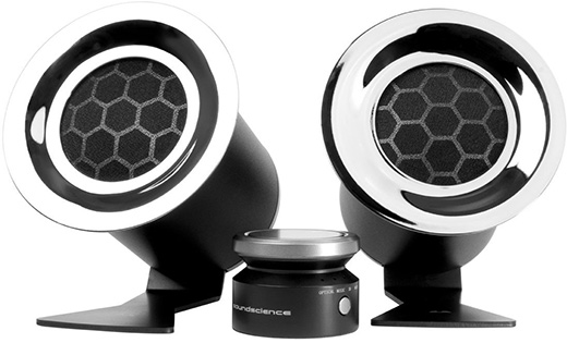 Soundscience Rockus 3D 2.1 Speakers