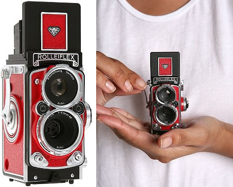 Digital Rolleiflex Mini Camera