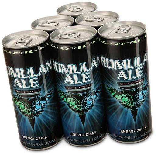 Romulan Ale Star Trek Energy Drink