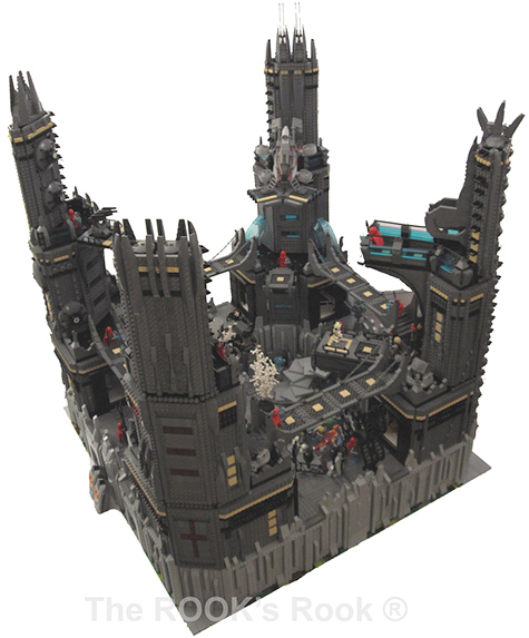 Rook Fortress Lego Creation